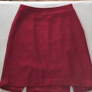 BR wool/ polyester skirt. RE. OP